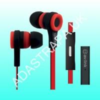 av:link 100.310 Rubberised Stereo Earphones