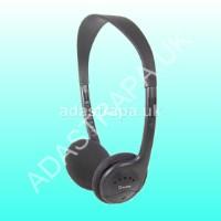 av:link 100.439 SH30 Lightweight Stereo Headphones.