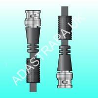 av:link 112.016  BNC Plug to Plug Lead