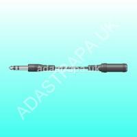 av:link 112.102  Stereo Jack Plug to Jack Socket Lead
