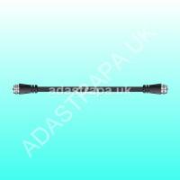 av:link 112.158  RG6 Coaxial F-Type Plug to Plug Lead