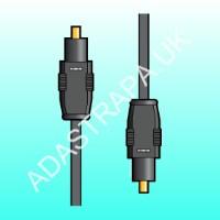 av:link 112.200  Optic Fibre TOSlink to TOSlink Lead
