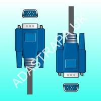 av:link 113.102  VGA Plug to Plug Lead