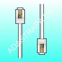 av:link 113.512  RJ11 Modular Plug to Plug Lead