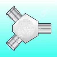 av:link 122.051  Coaxial Y Splitter