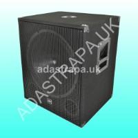 QTX 170.755 QT18SA Active Subwoofer Speaker Cabinet