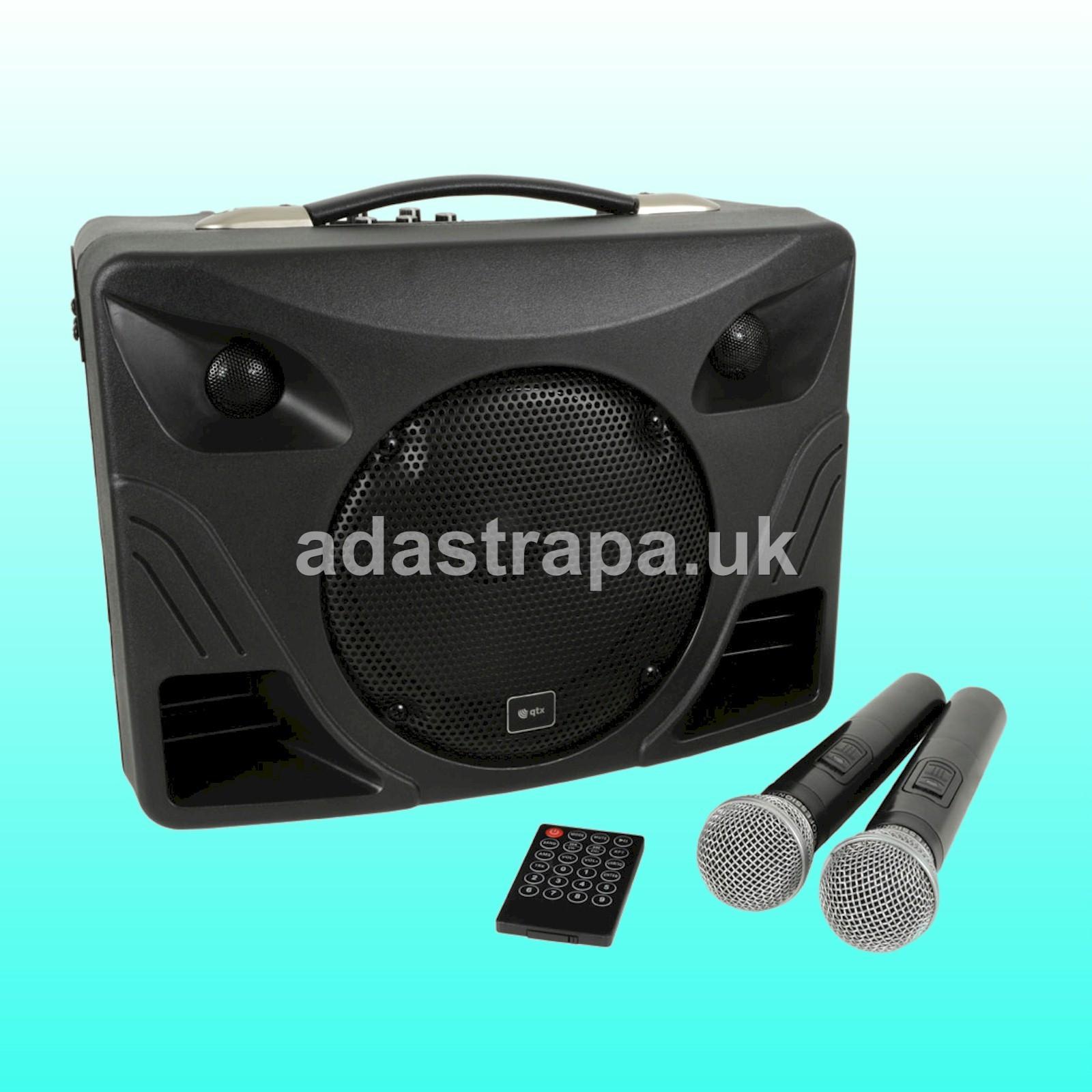 QTX 178.808 DELTA-50 Portable PA Unit