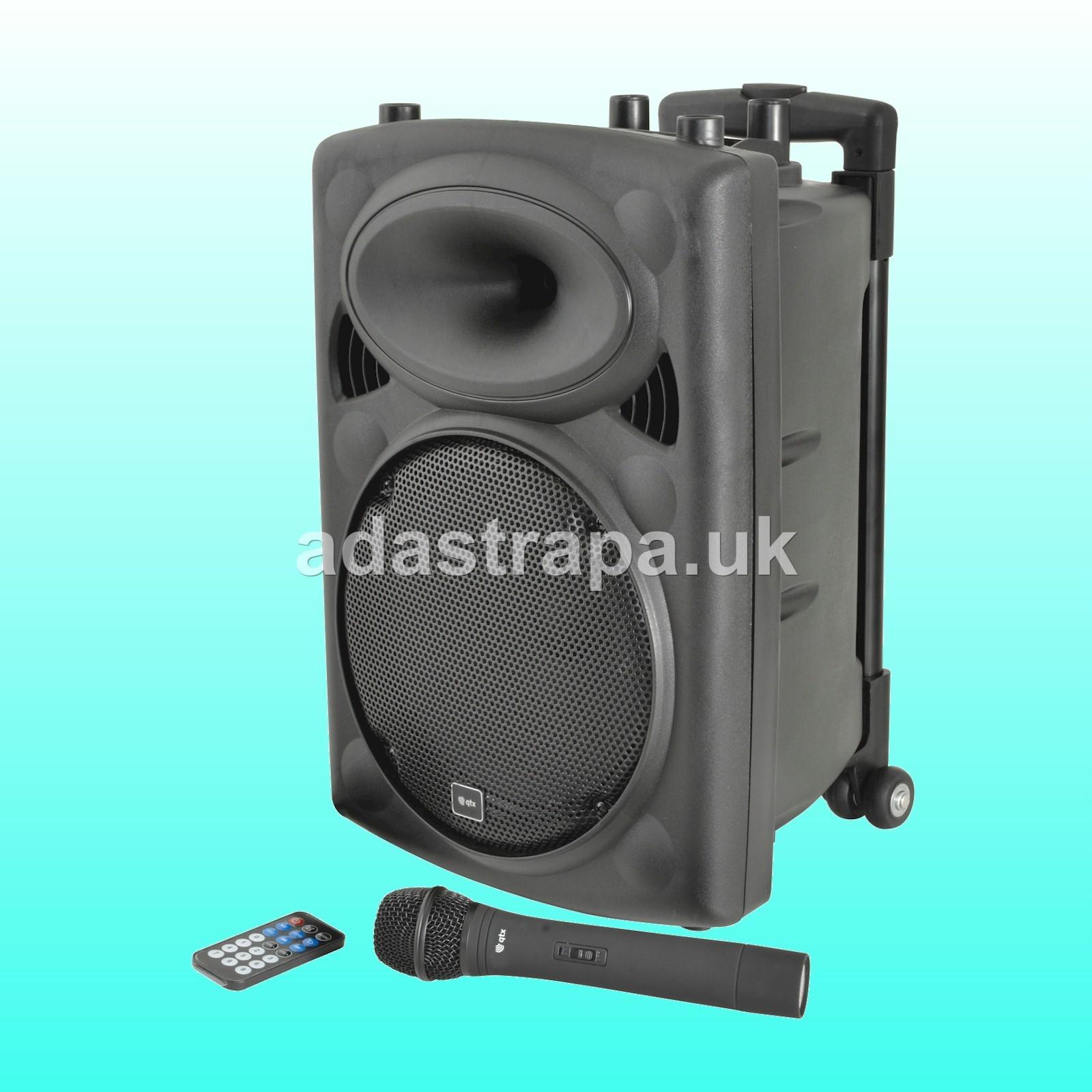QTX 178.839 QR10PABT Portable PA Unit