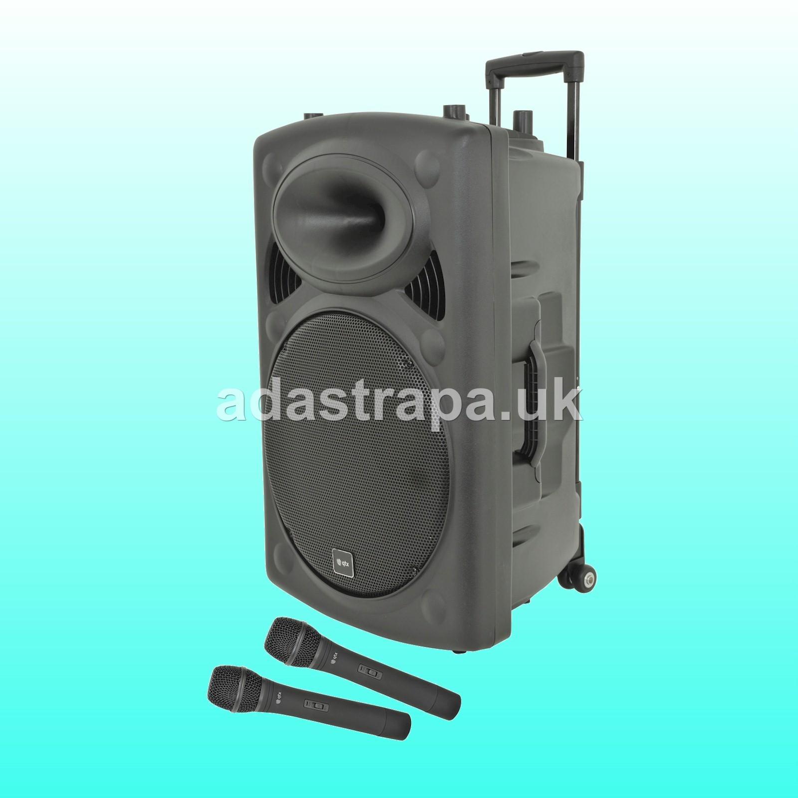 QTX 178.848 QR15PABT Portable PA Unit