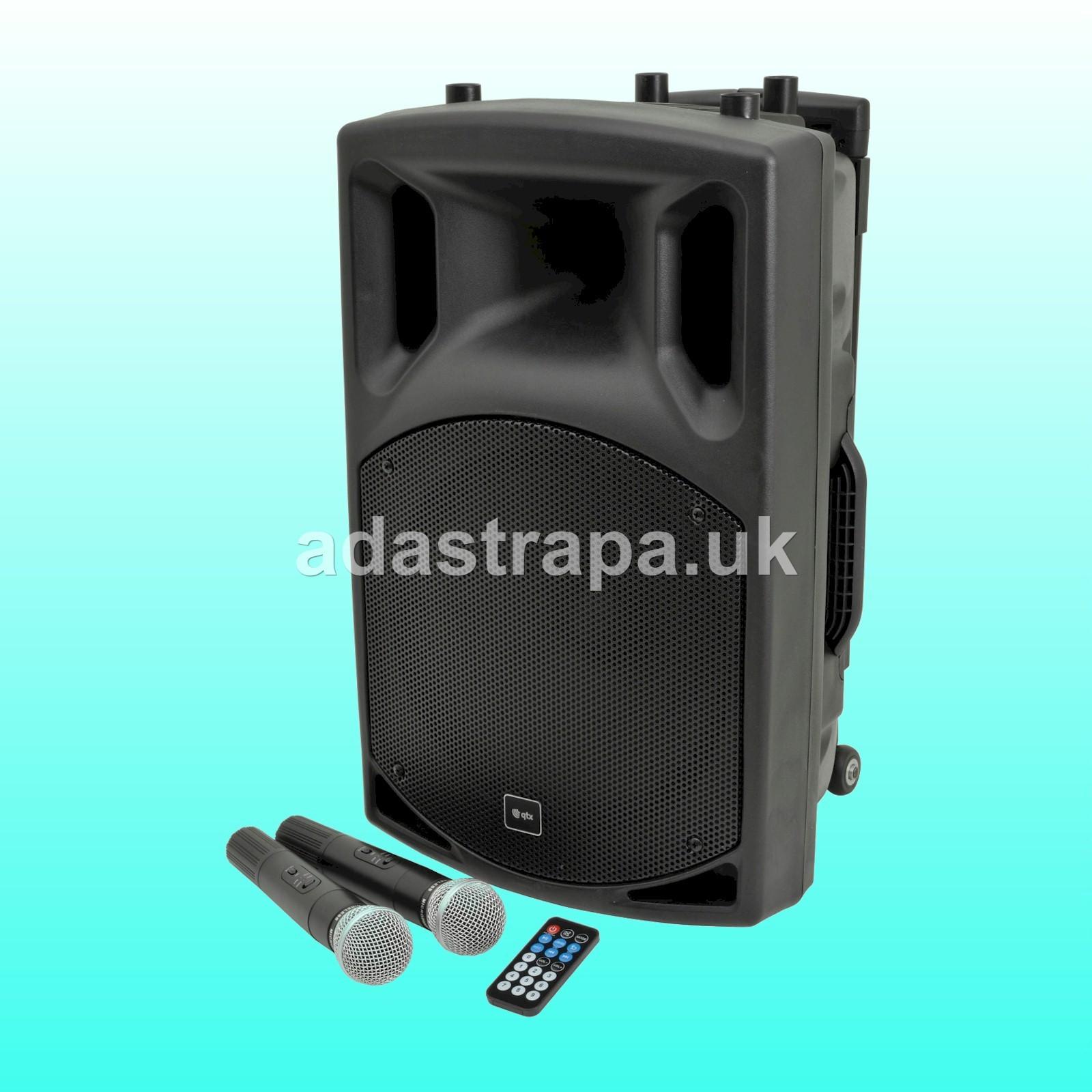 QTX 178.856 QX15PA Portable PA Unit