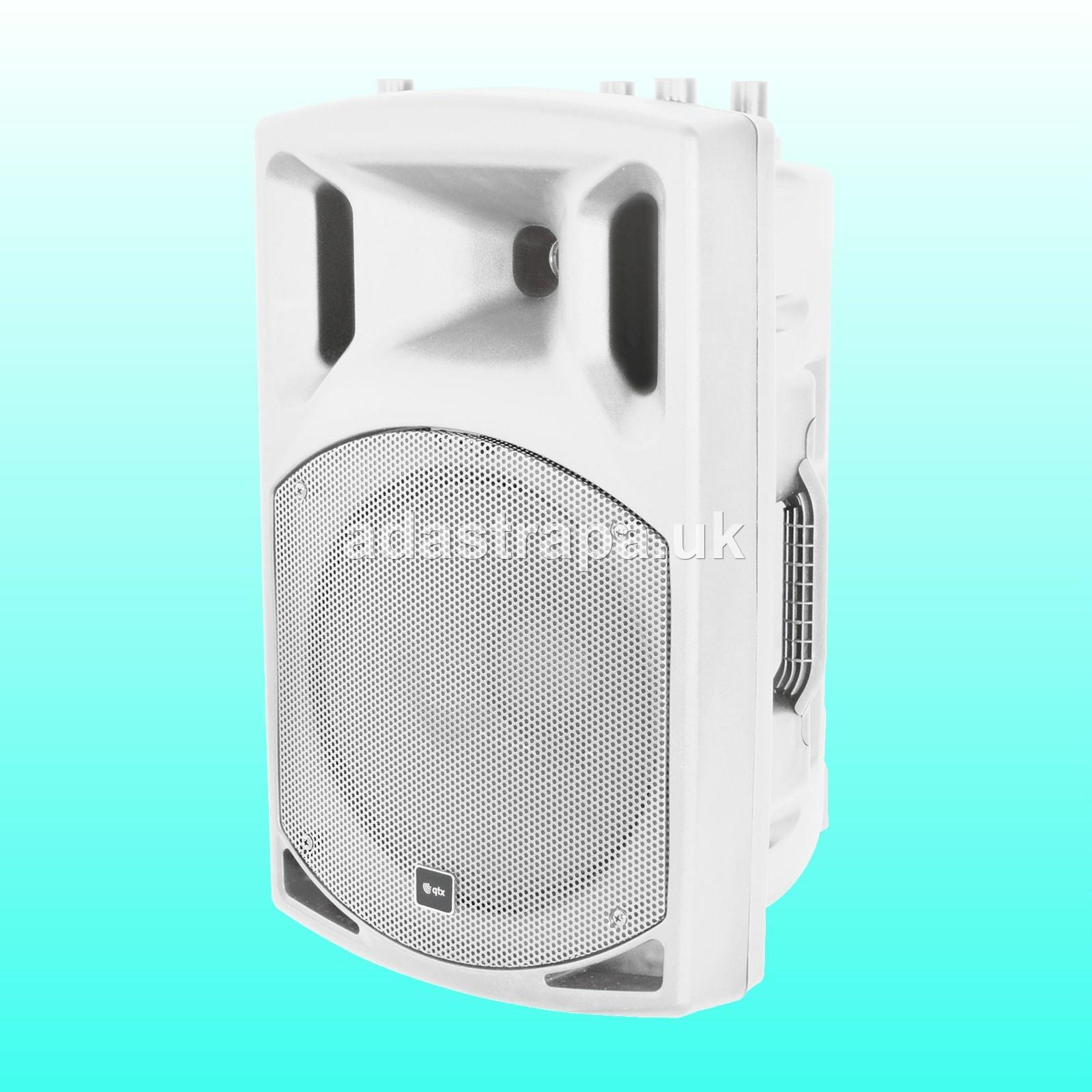 QTX 179.853 QX12PA Portable PA Unit with Bluetooth