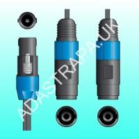 QTX 190.182  Speakon Connector Splitter Lead