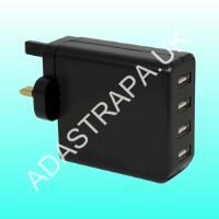 Mercury 421.765 USB-UK448v2 USB Mains Charger