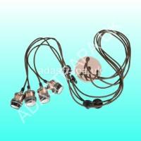 Lyyt 429.543 4P-E27-ACP Quad E27 Pendant Cord Set