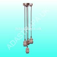 Lyyt 429.546 4P-E27-CPR Quad E27 Pendant Cord Set