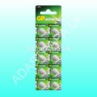 GP 656.202  LR44 Alkaline Button Cell