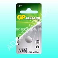 GP 656.203  LR44 Alkaline Button Cell