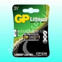 GP 656.339  CR123A Lithium Battery