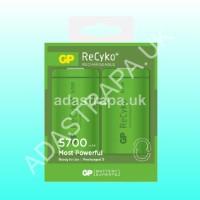 GP 656.854  D NiMH Rechargeable Batteries