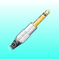 QTX 750.165  6.3mm Mono Jack Plug
