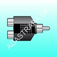 av:link 760.246  RCA Phono Splitter
