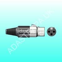 QTX 761.657  XLR Female Plug