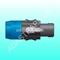 QTX 764.900 SPK4-PLG Speakon Speaker Plug