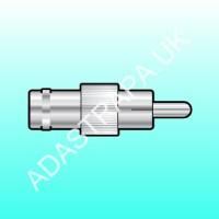 av:link 773.956  Adaptor, BNC socket to RCA plug