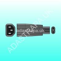 Mercury 776.248  IEC Plug to Fig.8 Plug Adaptor