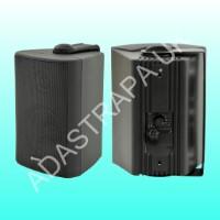 Adastra 952.815 BP5V-B 100V Line or 8 Ohm Outdoor Wall Speaker