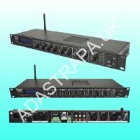 Adastra 953.029 MM3260 Rackmount 1U Mixer-Amp