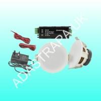 Adastra 953.138 SL3-BT Ceiling Speakers and Amplifier PackageAdastra 9